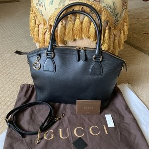 Authentic Gucci GG charm Dome convertible